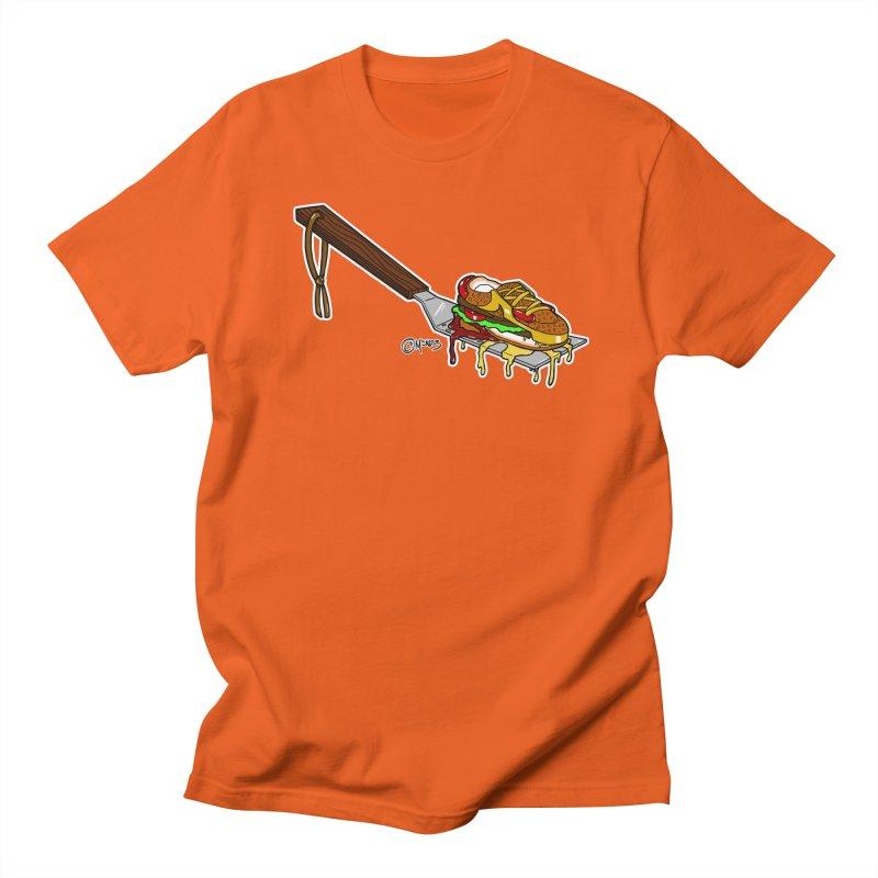 Fresh Kicks off the Grill Women's T-Shirt by Carlos E Mendez Art
