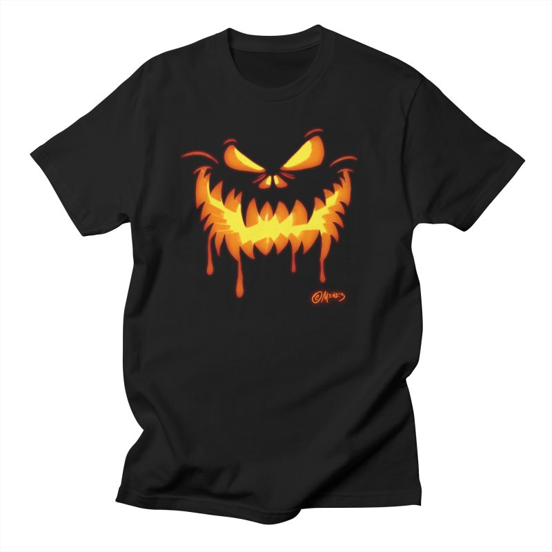 Halloween Jack O Lantern 5 Men's T-Shirt by Carlos E Mendez Art - Featured Design (CLICK HERE)