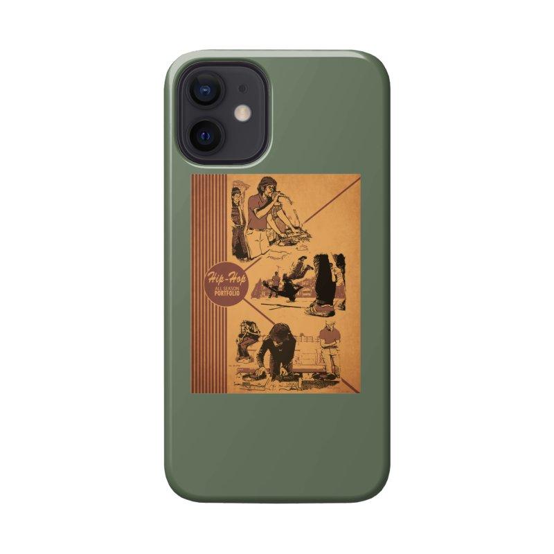 Hip Hop Pee Chee Folder Accessories Phone Case by Carlos E Mendez Art