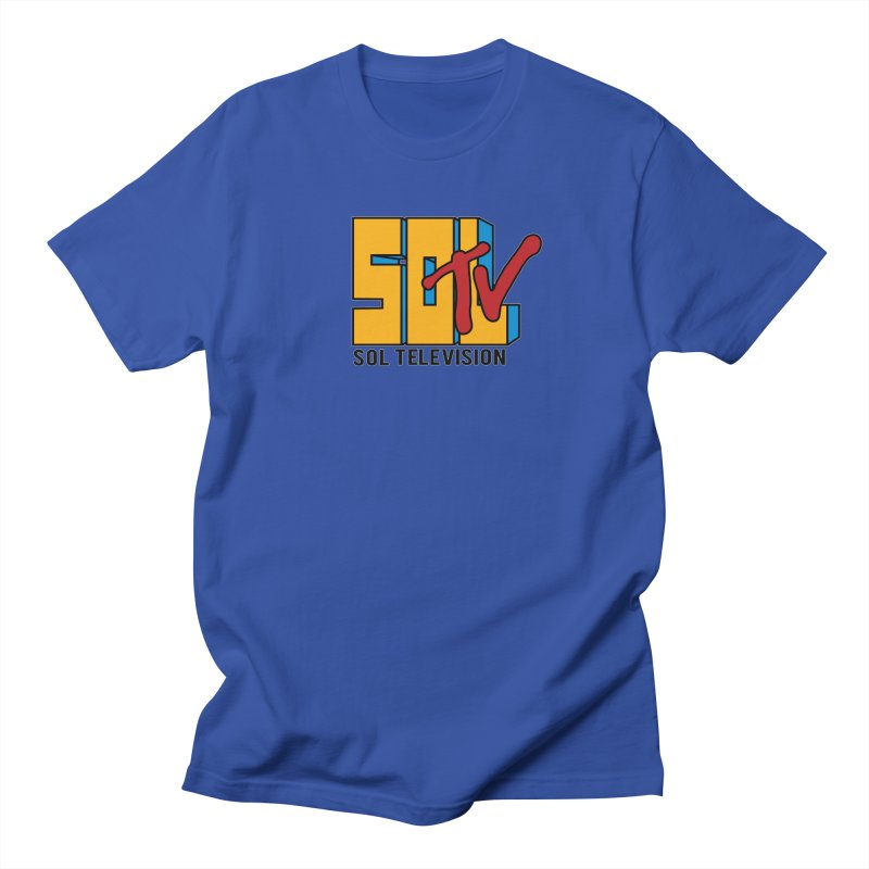 SOL TV Men's T-Shirt by Carlos E Mendez Art