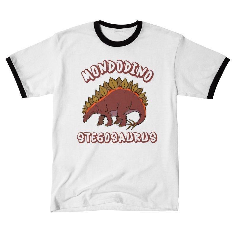 Mondodino - Stegosaurus 2 Men's T-Shirt by Carlos E Mendez Art