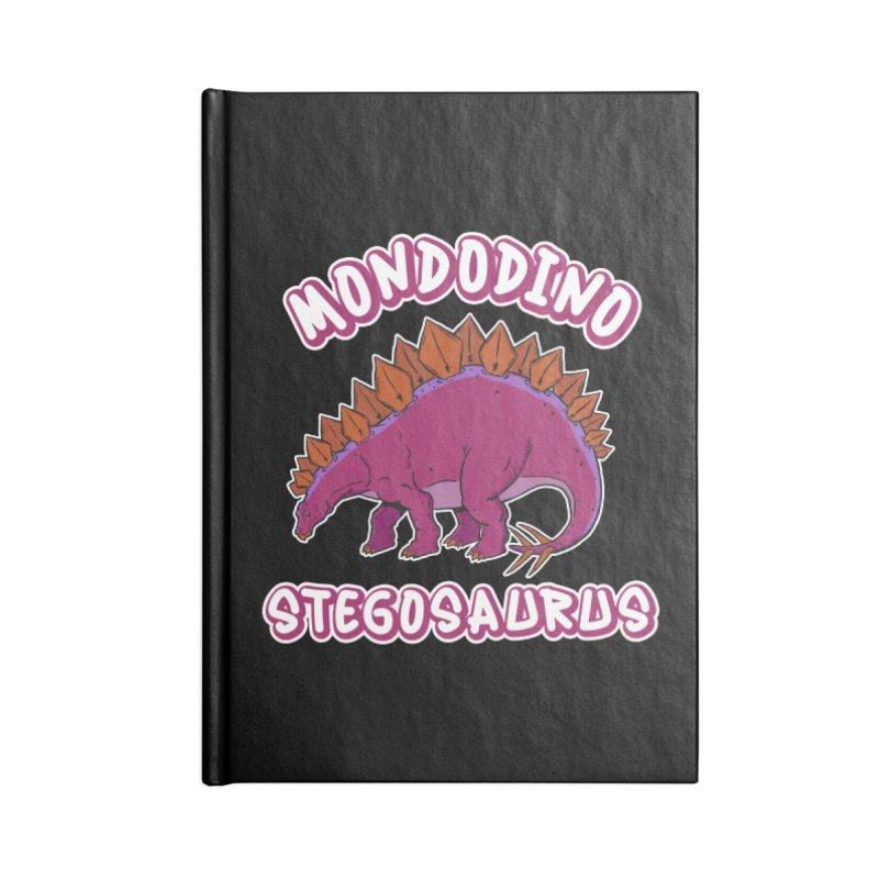 Mondodino - Stegosaurus 3 Accessories Notebook by Carlos E Mendez Art - Featured Design (CLICK HERE)