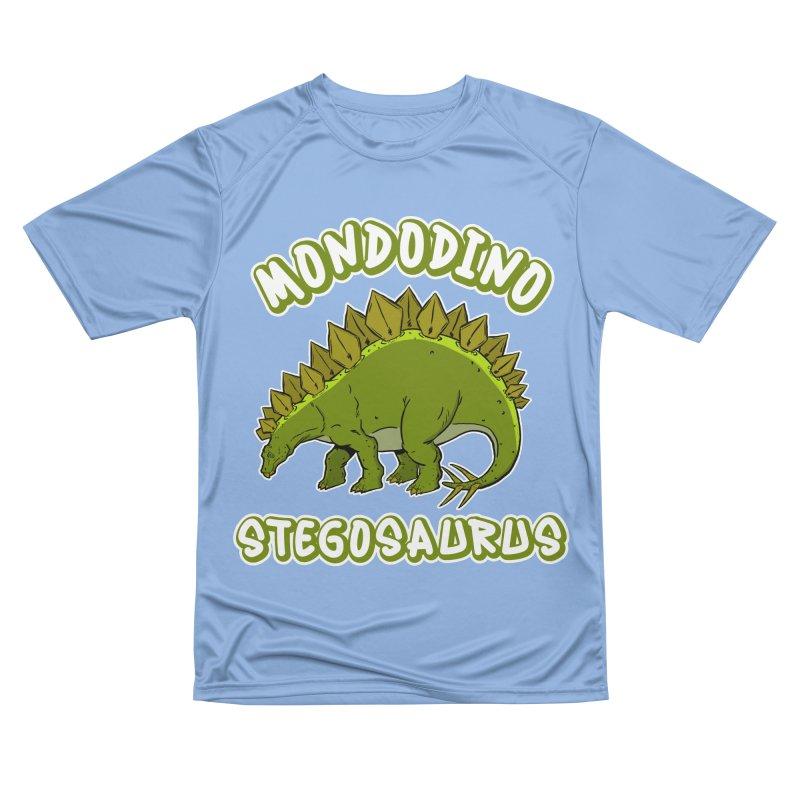 Mondodino - Stegosaurus 4 Men's T-Shirt by Carlos E Mendez Art