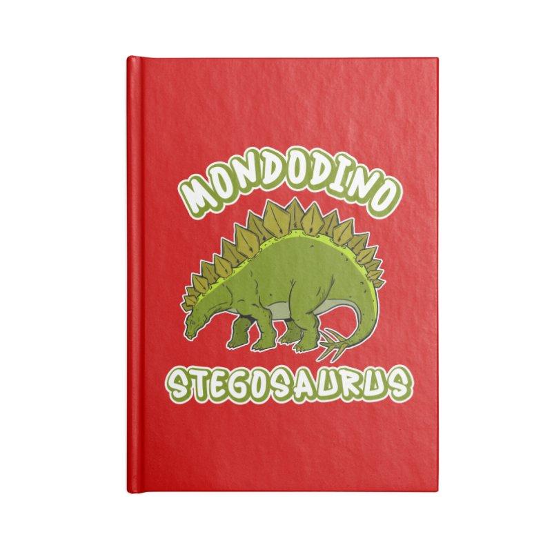 Mondodino - Stegosaurus 4 Accessories Notebook by Carlos E Mendez Art - Featured Design (CLICK HERE)