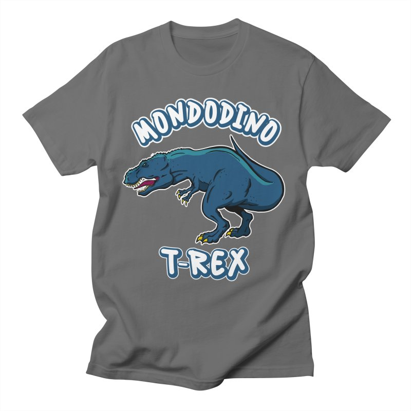 Mondodino - T Rex 1 Men's T-Shirt by Carlos E Mendez Art - Featured Design (CLICK HERE)