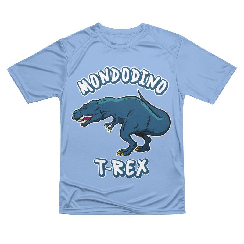 Mondodino - T Rex 1 Men's T-Shirt by Carlos E Mendez Art