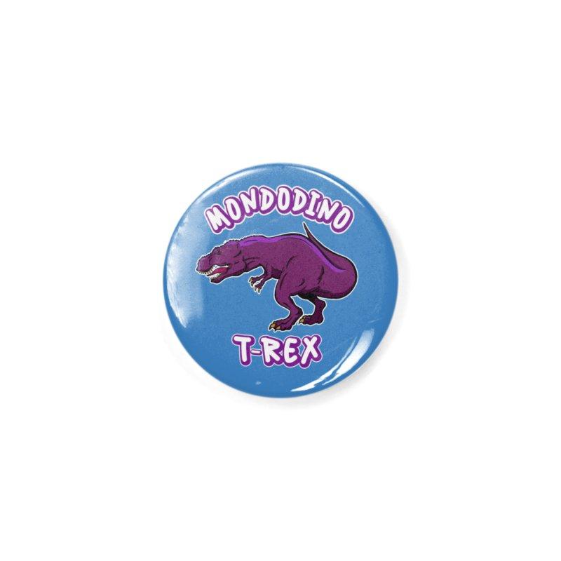 Mondodino - T Rex 2 Accessories Button by Carlos E Mendez Art