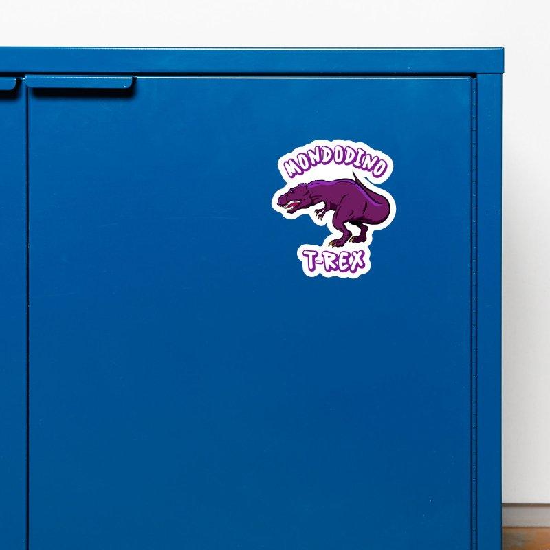 Mondodino - T Rex 2 Accessories Magnet by Carlos E Mendez Art - Featured Design (CLICK HERE)