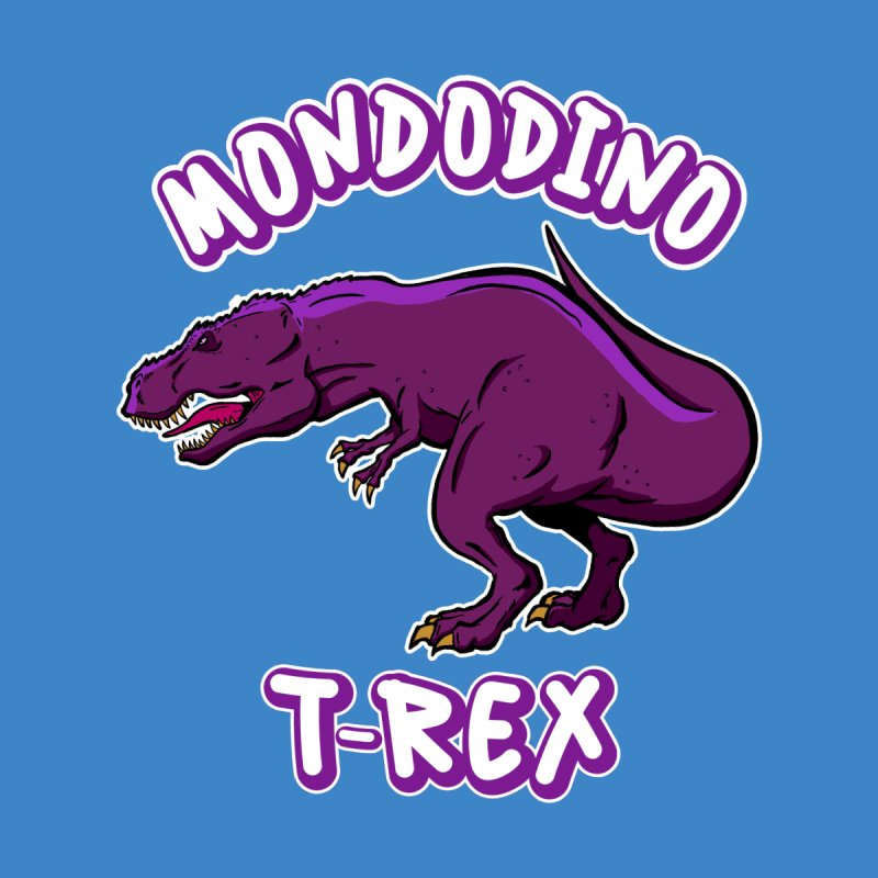 Mondodino - T Rex 2 Accessories Face Mask by Carlos E Mendez Art