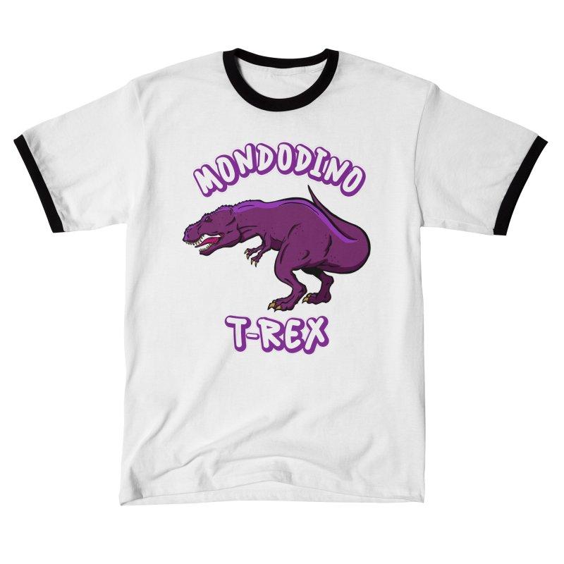 Mondodino - T Rex 2 Men's T-Shirt by Carlos E Mendez Art