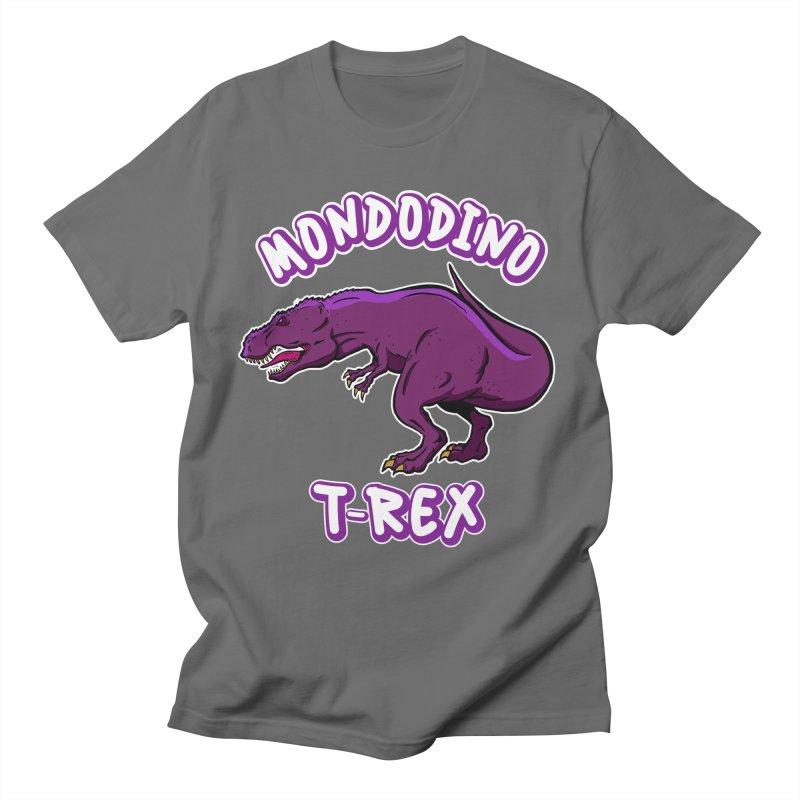 Mondodino - T Rex 2 Men's T-Shirt by Carlos E Mendez Art - Featured Design (CLICK HERE)