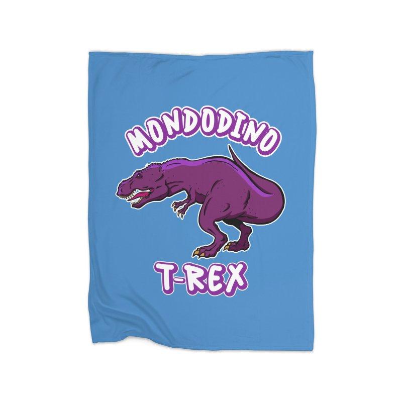 Mondodino - T Rex 2 Home Blanket by Carlos E Mendez Art - Featured Design (CLICK HERE)