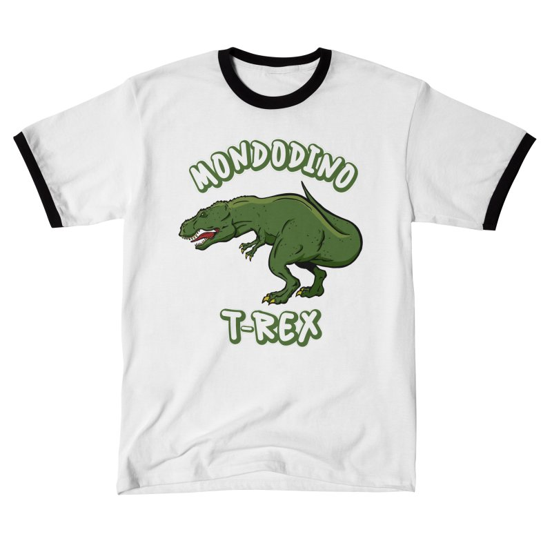 Mondodino - T Rex 3 Men's T-Shirt by Carlos E Mendez Art - Featured Design (CLICK HERE)
