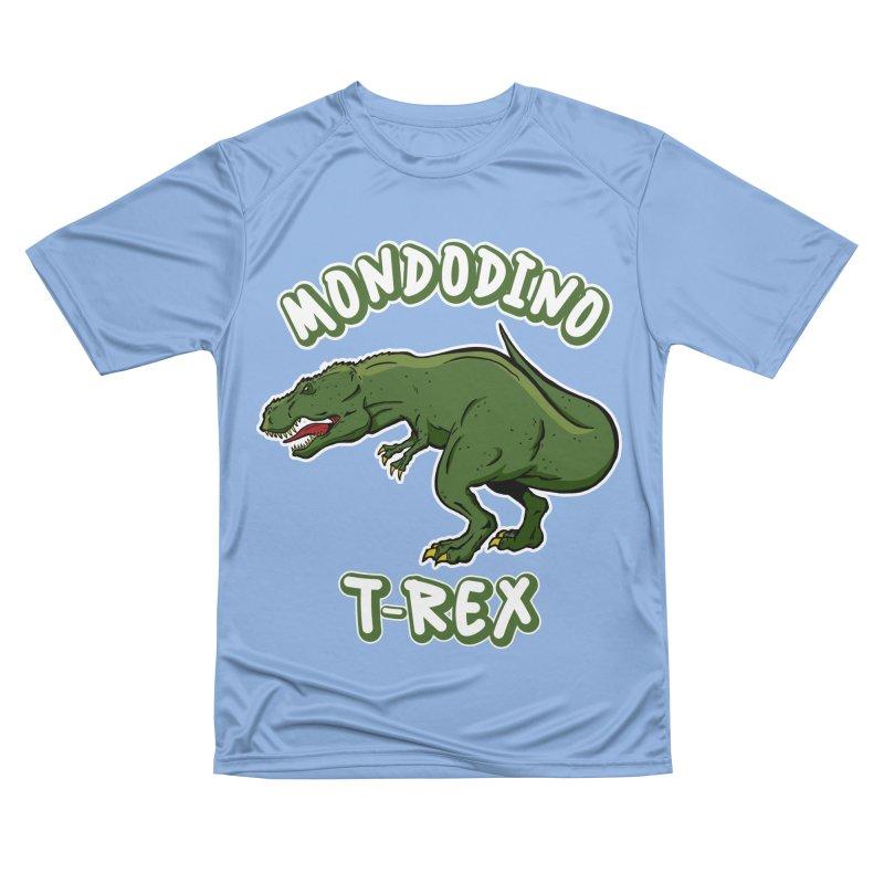 Mondodino - T Rex 3 Men's T-Shirt by Carlos E Mendez Art