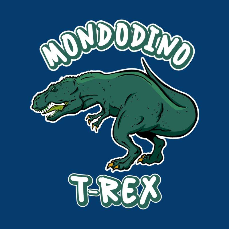 Mondodino - T Rex 4 Kids Toddler Longsleeve T-Shirt by Carlos E Mendez Art - Featured Design (CLICK HERE)