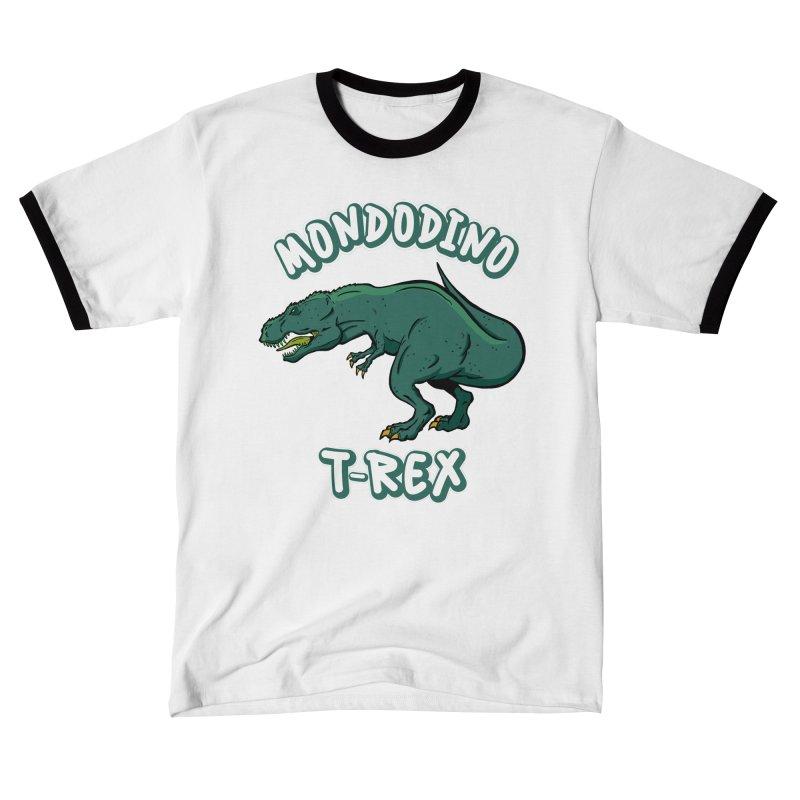 Mondodino - T Rex 4 Men's T-Shirt by Carlos E Mendez Art
