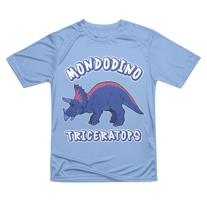 Mondodino - Triceratops 1 Men's T-Shirt by Carlos E Mendez Art