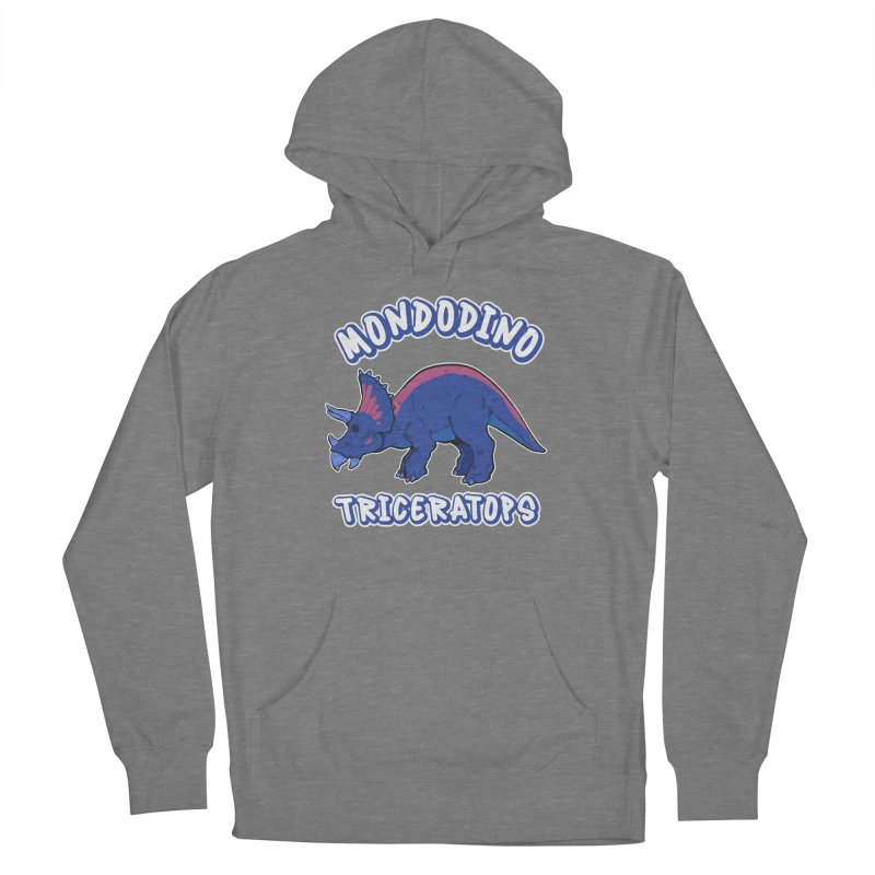 Mondodino - Triceratops 1 Women's Pullover Hoody by Carlos E Mendez Art - Featured Design (CLICK HERE)