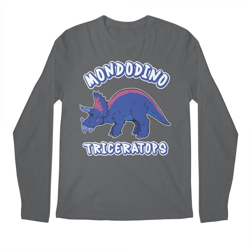 Mondodino - Triceratops 1 Men's Longsleeve T-Shirt by Carlos E Mendez Art - Featured Design (CLICK HERE)