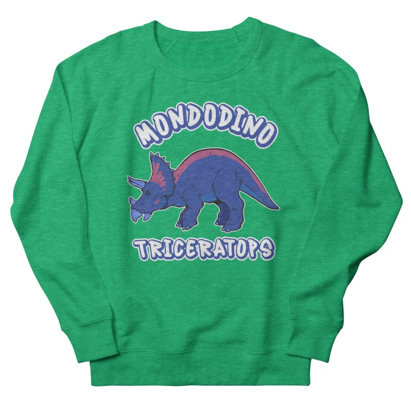 Mondodino - Triceratops 1 Women's Sweatshirt by Carlos E Mendez Art - Featured Design (CLICK HERE)