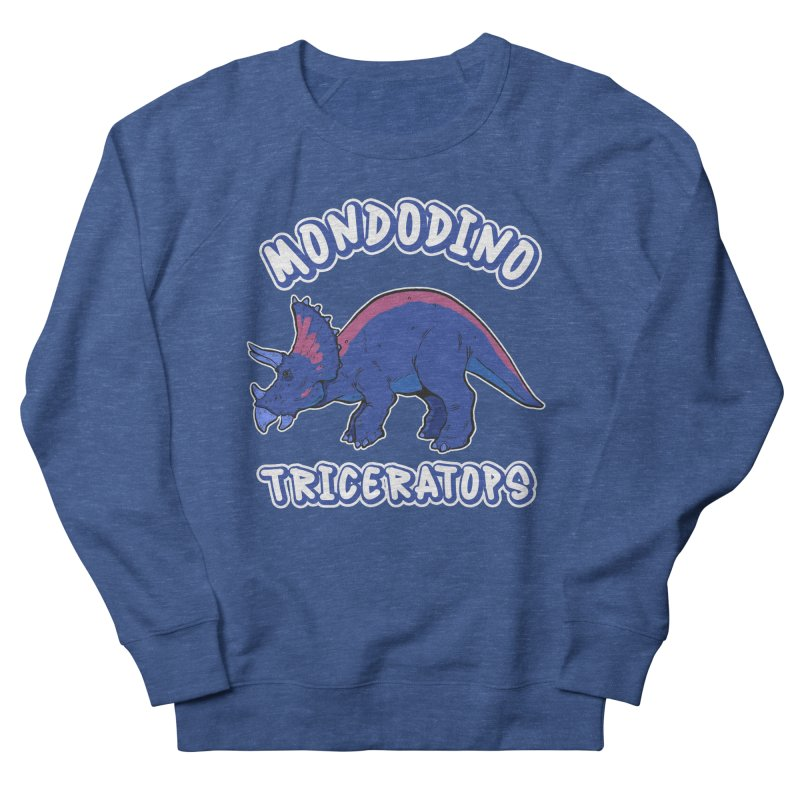Mondodino - Triceratops 1 Men's Sweatshirt by Carlos E Mendez Art - Featured Design (CLICK HERE)