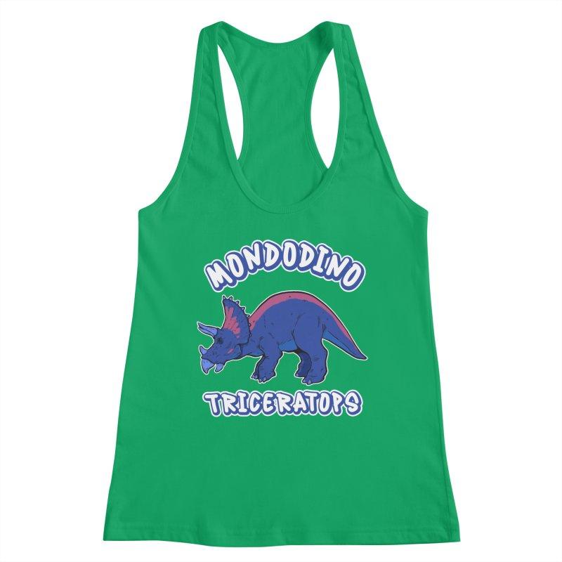 Mondodino - Triceratops 1 Women's Tank by Carlos E Mendez Art - Featured Design (CLICK HERE)