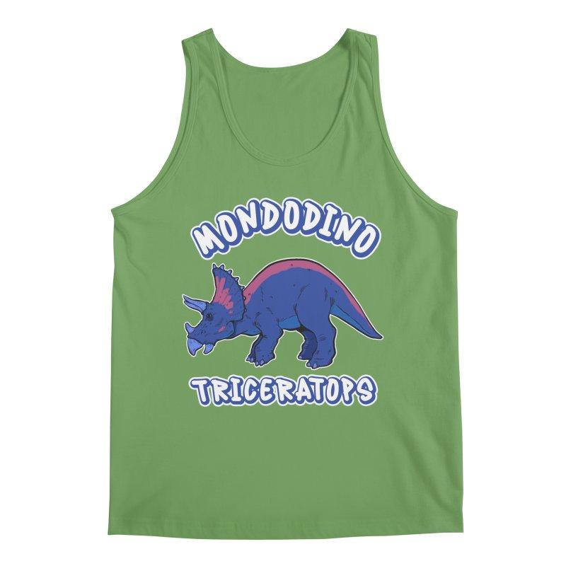 Mondodino - Triceratops 1 Men's Tank by Carlos E Mendez Art - Featured Design (CLICK HERE)