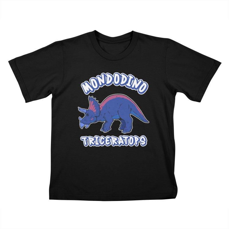 Mondodino - Triceratops 1 Kids T-Shirt by Carlos E Mendez Art - Featured Design (CLICK HERE)