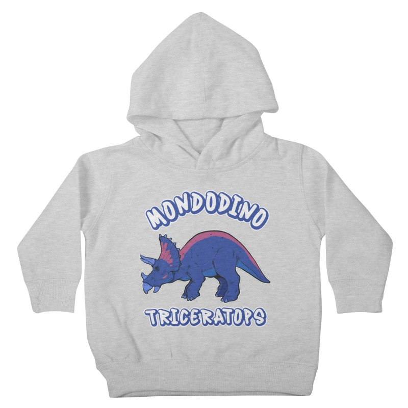 Mondodino - Triceratops 1 Kids Toddler Pullover Hoody by Carlos E Mendez Art - Featured Design (CLICK HERE)