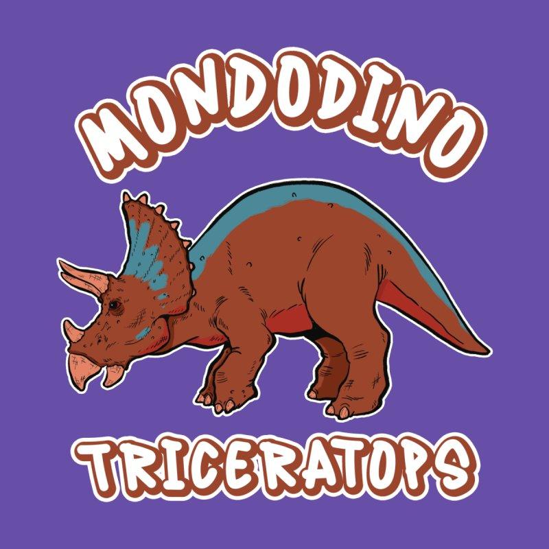 Mondodino - Triceratops 2 Men's Longsleeve T-Shirt by Carlos E Mendez Art - Featured Design (CLICK HERE)
