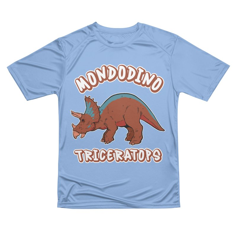 Mondodino - Triceratops 2 Men's T-Shirt by Carlos E Mendez Art
