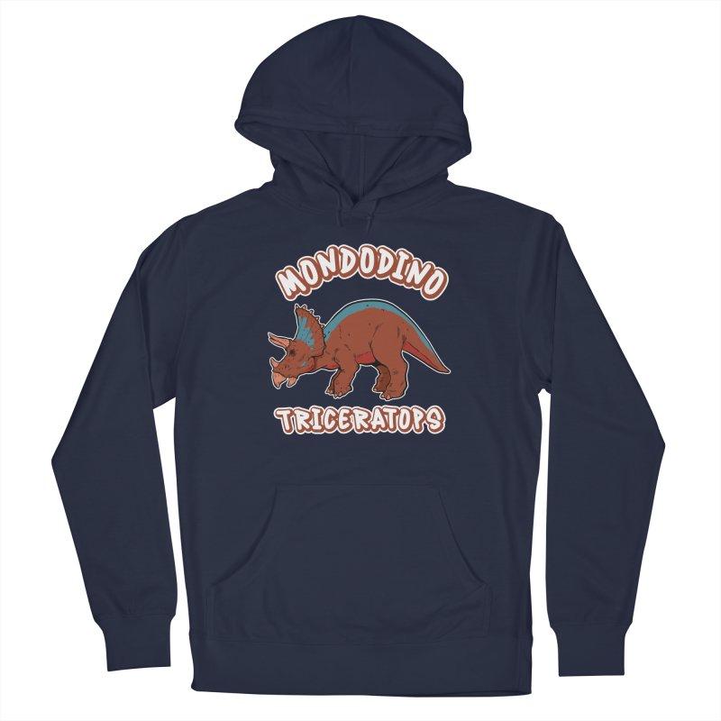 Mondodino - Triceratops 2 Men's Pullover Hoody by Carlos E Mendez Art - Featured Design (CLICK HERE)