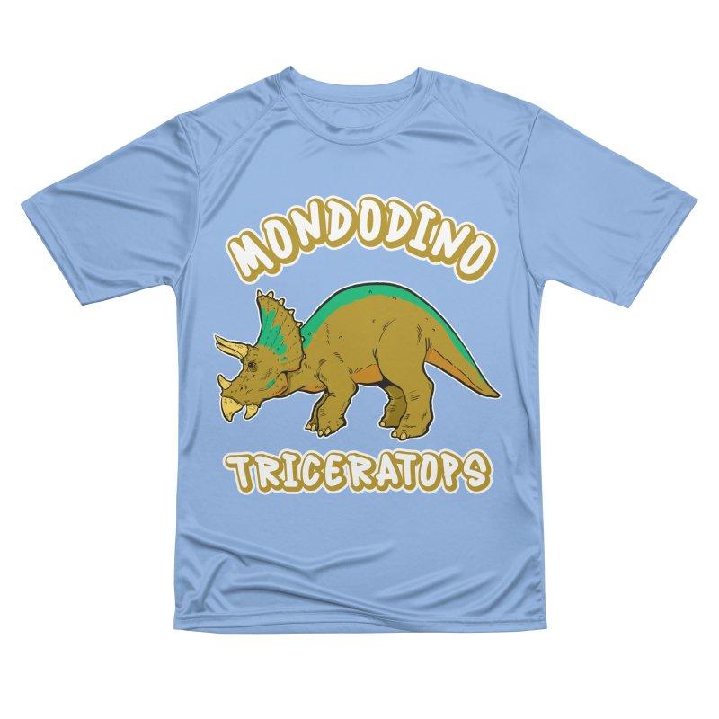 Mondodino - Triceratops 3 Men's T-Shirt by Carlos E Mendez Art