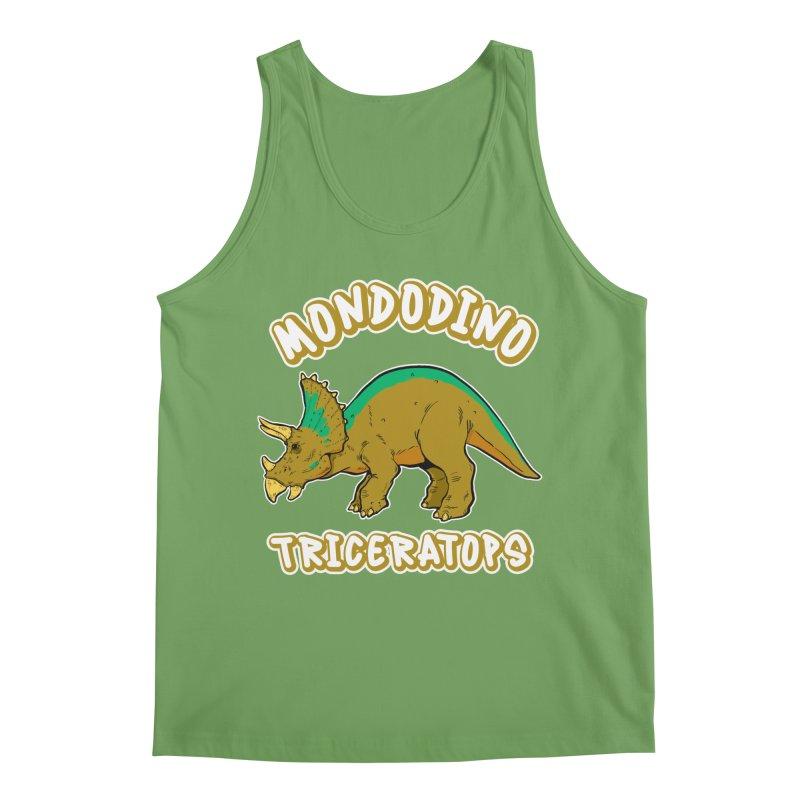 Mondodino - Triceratops 3 Men's Tank by Carlos E Mendez Art - Featured Design (CLICK HERE)