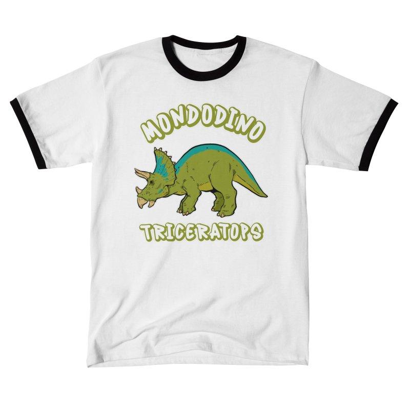 Mondodino - Triceratops 4 Women's T-Shirt by Carlos E Mendez Art - Featured Design (CLICK HERE)