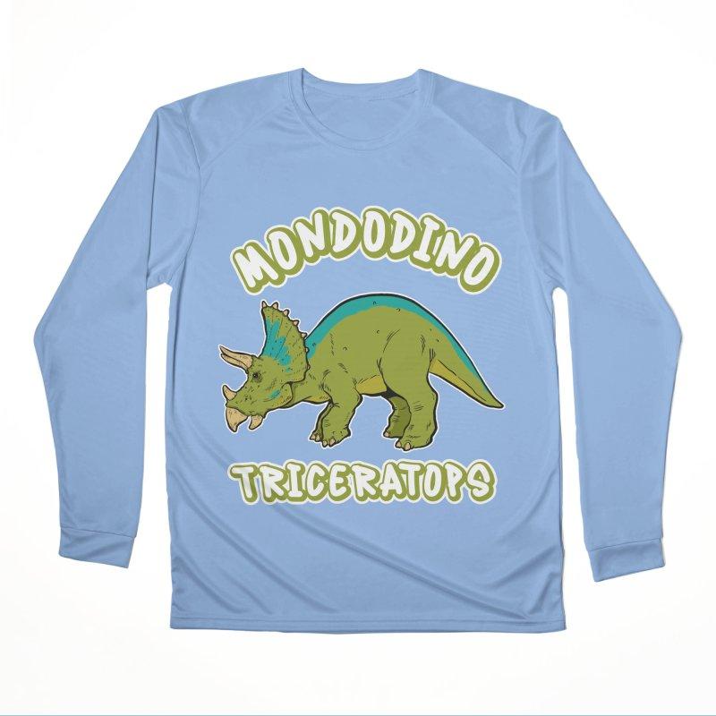 Mondodino - Triceratops 4 Men's Longsleeve T-Shirt by Carlos E Mendez Art - Featured Design (CLICK HERE)