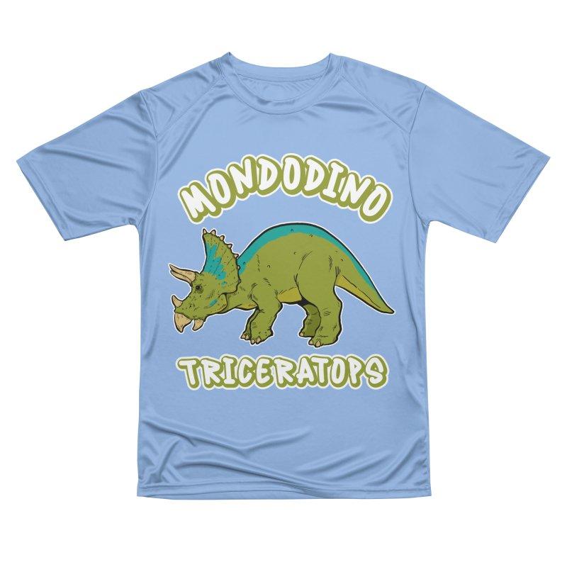 Mondodino - Triceratops 4 Men's T-Shirt by Carlos E Mendez Art