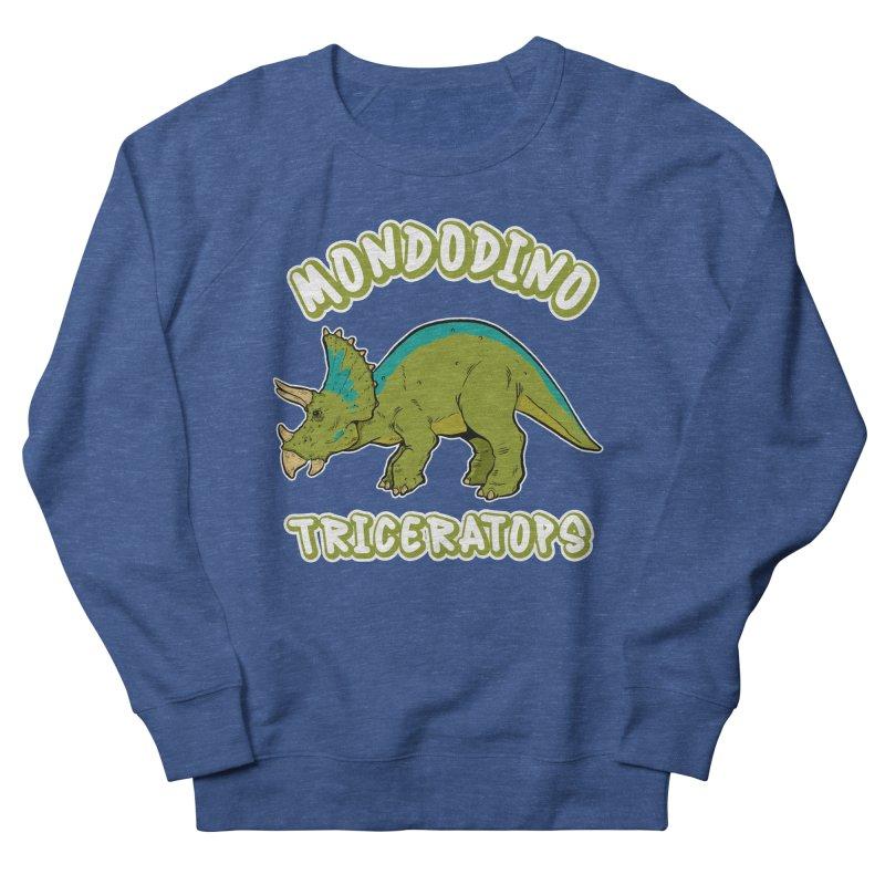 Mondodino - Triceratops 4 Men's Sweatshirt by Carlos E Mendez Art - Featured Design (CLICK HERE)