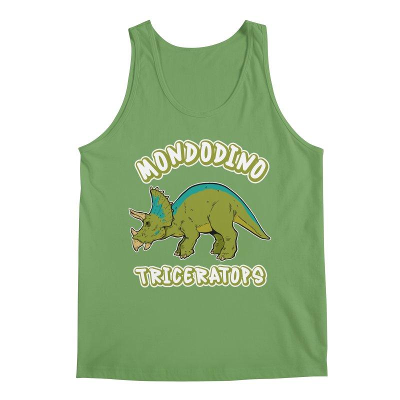 Mondodino - Triceratops 4 Men's Tank by Carlos E Mendez Art - Featured Design (CLICK HERE)