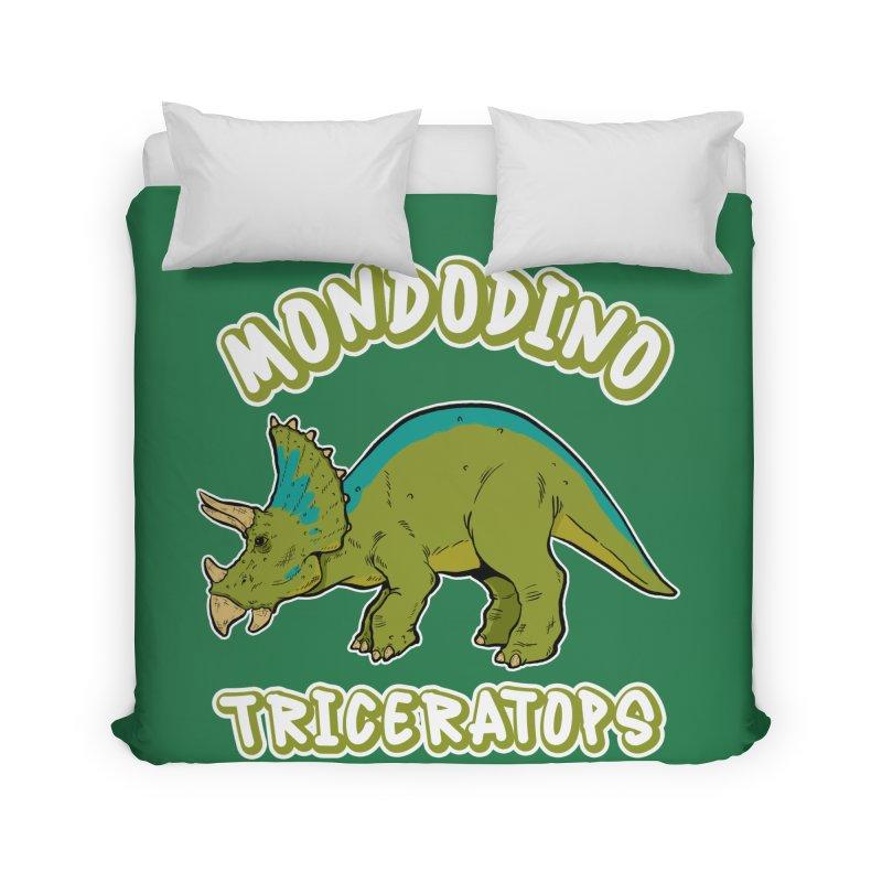 Mondodino - Triceratops 4 Home Duvet by Carlos E Mendez Art - Featured Design (CLICK HERE)