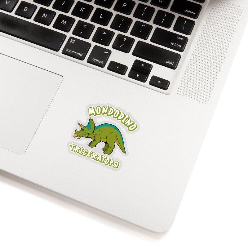 Mondodino - Triceratops 4 Accessories Sticker by Carlos E Mendez Art - Featured Design (CLICK HERE)