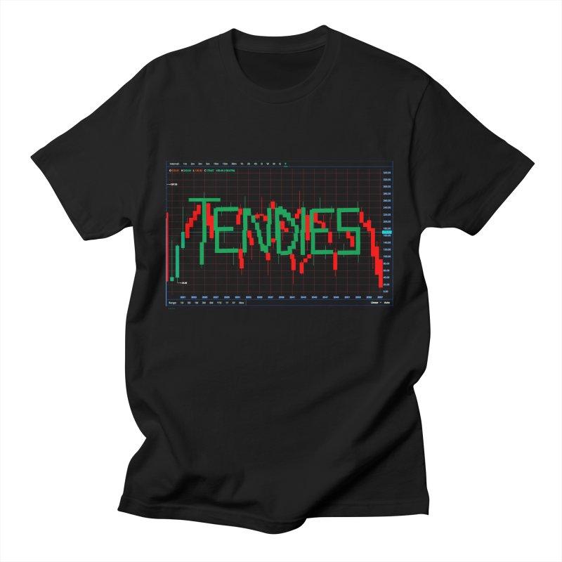 STOCK TIPS - TENDIES Men's T-Shirt by Carlos E Mendez Art - Featured Design (CLICK HERE)