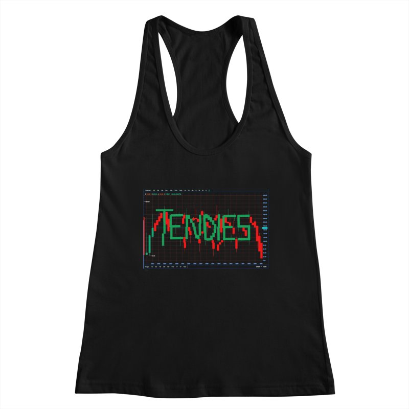 STOCK TIPS - TENDIES Women's Tank by Carlos E Mendez Art - Featured Design (CLICK HERE)