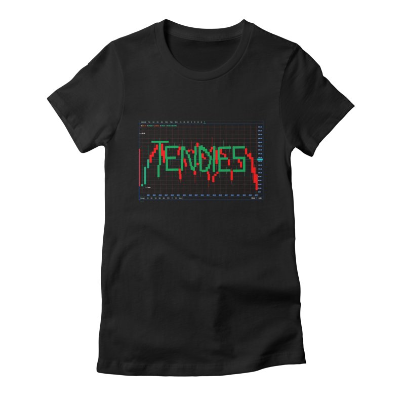 STOCK TIPS - TENDIES Women's T-Shirt by Carlos E Mendez Art - Featured Design (CLICK HERE)