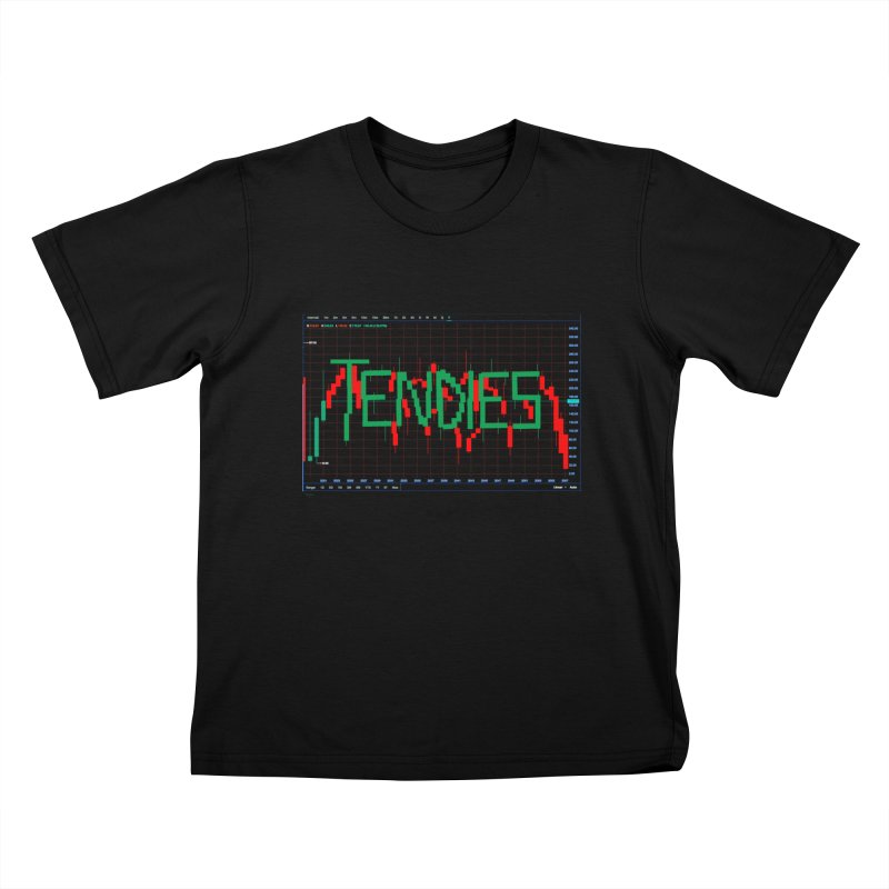 STOCK TIPS - TENDIES Kids T-Shirt by Carlos E Mendez Art - Featured Design (CLICK HERE)