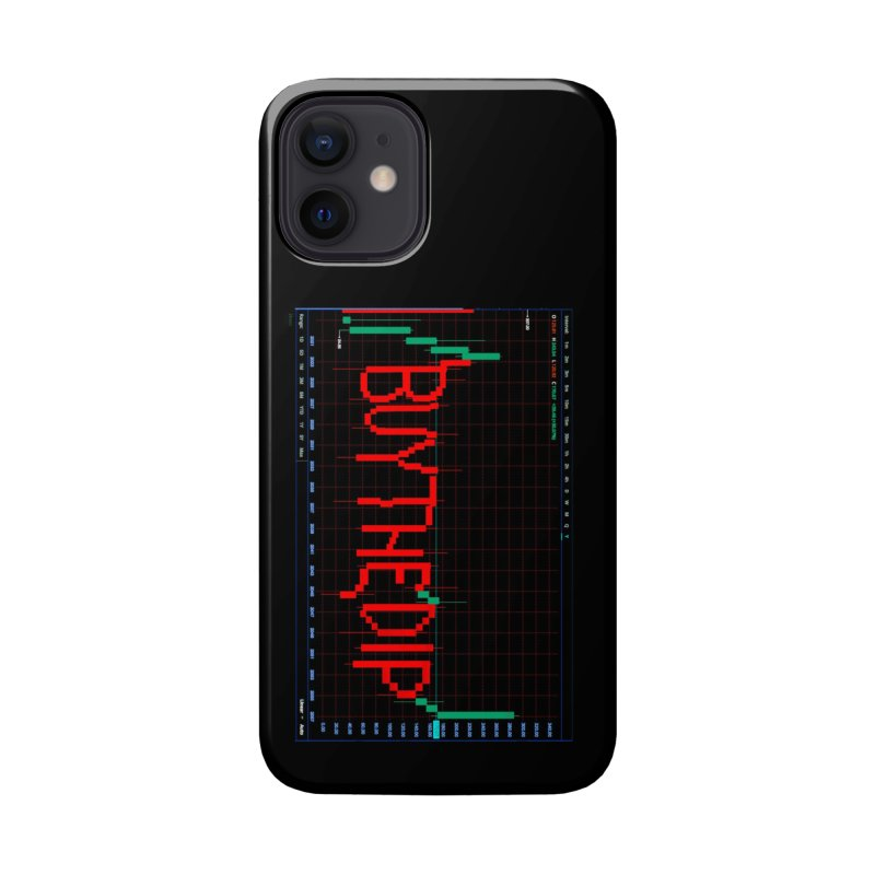 STOCK TIPS - BUY THE DIP Accessories Phone Case by Carlos E Mendez Art