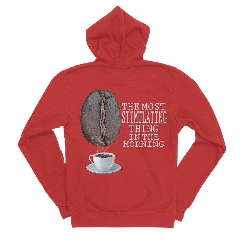 STIMULATING Women's Zip-Up Hoody by Carlos E Mendez Art - Featured Design (CLICK HERE)