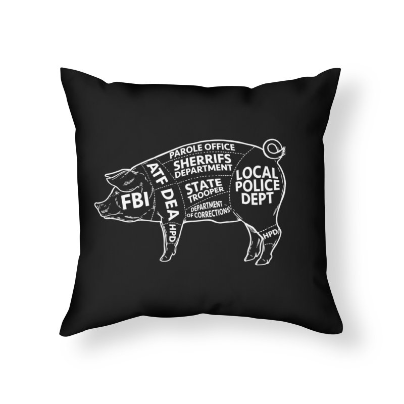 Misconduct and Corruption #6 Home Throw Pillow by Carlos E Mendez Art - Featured Design (CLICK HERE)