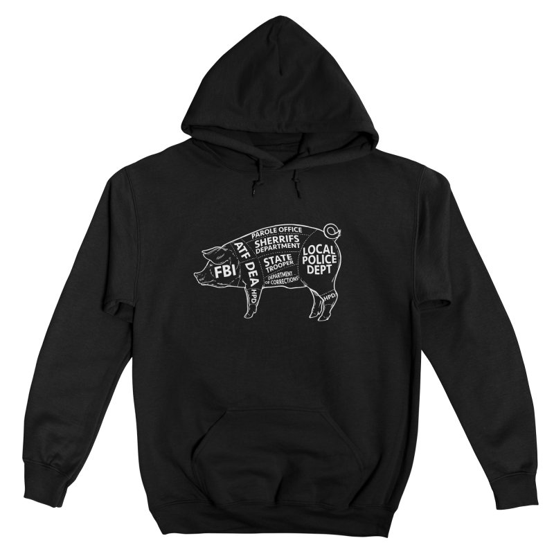 Misconduct and Corruption #6 Women's Pullover Hoody by Carlos E Mendez Art - Featured Design (CLICK HERE)