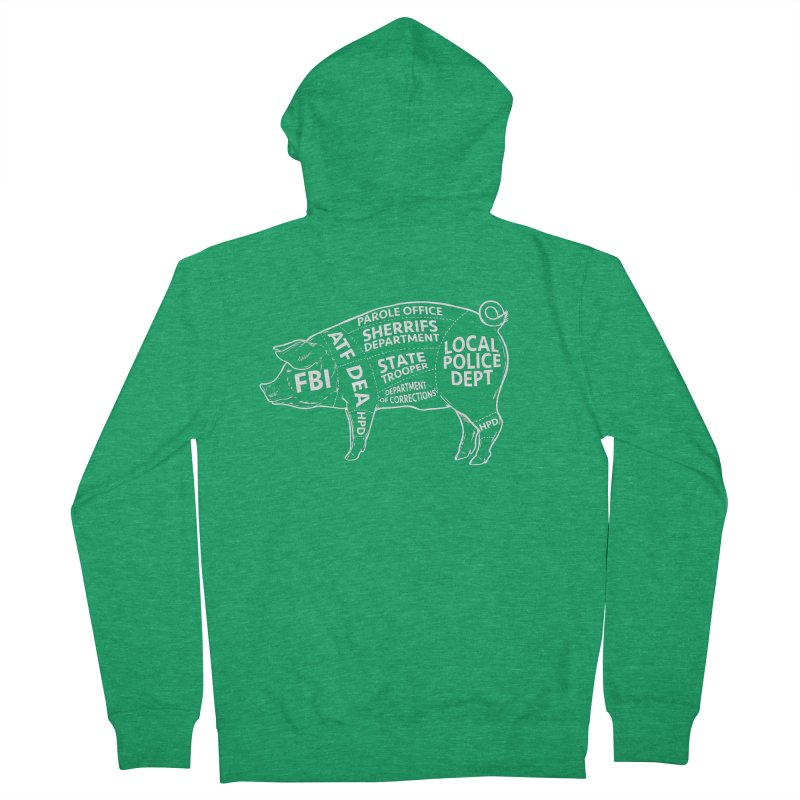 Misconduct and Corruption #6 Men's Zip-Up Hoody by Carlos E Mendez Art - Featured Design (CLICK HERE)